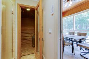 Wet and dry sauna