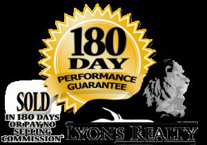 Lyons Realty 180 Day Logo