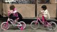 Our Twins Workin' Bike Skills!