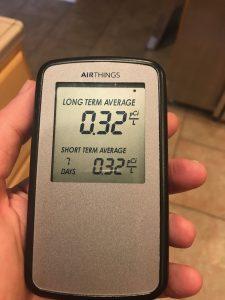 radon results low