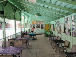 Keough Hot Springs Covered Eating Area Bishop CA