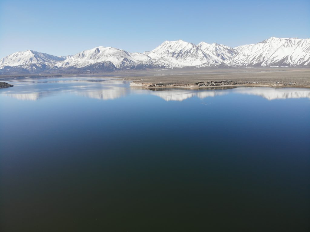 Crowley Lake fly fishing and trout fishing