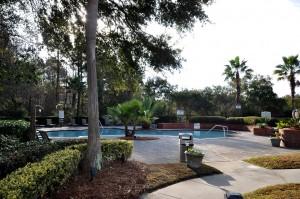Community pool at The Peninsula