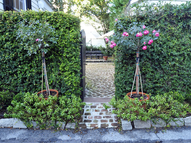 Private Garden at 4 Atlantic Street, Charleston, SC