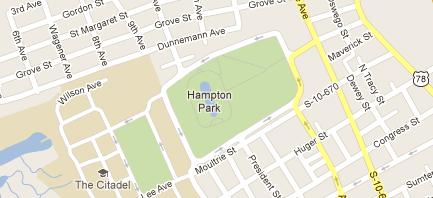 Hampton Park Map