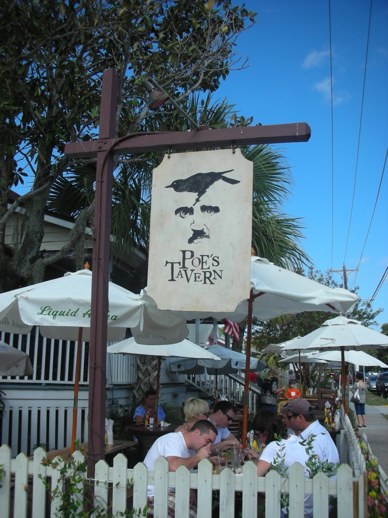 Featured Sullivans Island Restaurant Poes Tavern