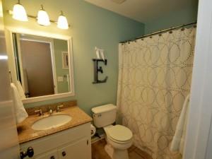 Updated full bathroom at 24 Wyecreek