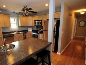 Updated kitchen at 24 Wyecreek Ave