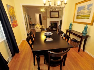 Formal Dining room at 24 Wyecreek Ave