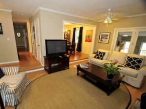 Living room at 24 Wyecreek Ave
