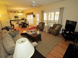 Family Room at 609 First Mate Court