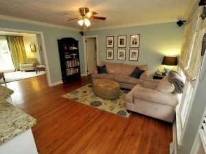 Family room at 455 Lydia Drive on James Island