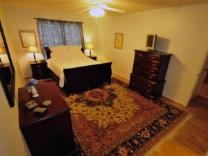 Master bedroom at 1307 Shire Road