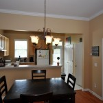 Dining room & kitchen at 105 Barberry Street