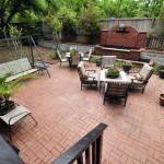Brick patio at 538 Blackstrap Retreat