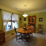 Dining room at 2244 Ashley Crossing Drive #232