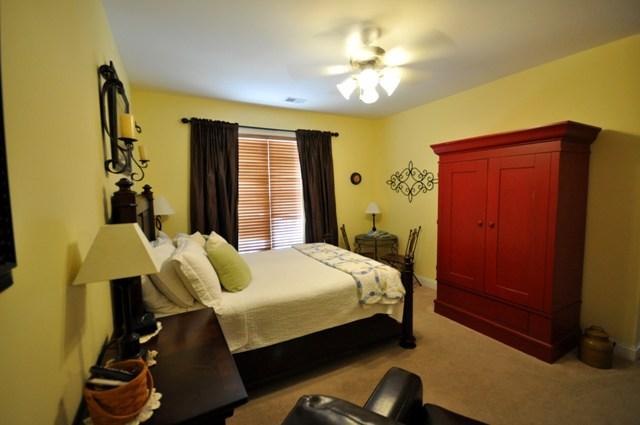 Master bedroom in the Arboretum West Ashley