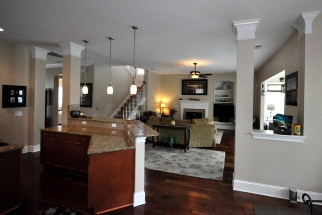 Kitchen & Family room at 120 Westoe Street, Summerville