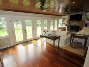 Living room at 6229 Willcap Road, Wadmalaw Island, SC