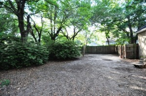 Backyard at 1253 Wisteria Road in West Ashley