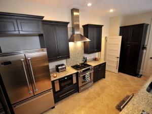 24 Charlotte Street kitchen