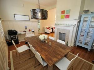 24 Charlotte Street dining room