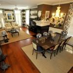 120 Mary Ellen Drive Living Room & Dining Room