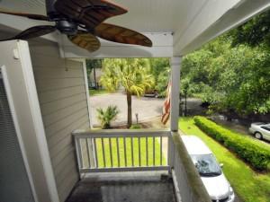 Second story porch at 2015 Harrietta Court