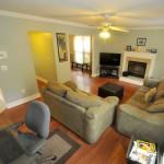Living room at 2015 Harrietta Court