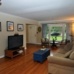 Living room at 880 Quail Drive on James Island