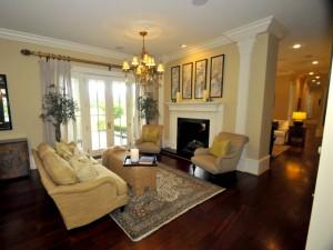 Living room at 1437 Burningtree