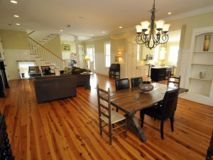 9 William Street living and dining rooms