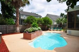 Pool at 422 Baycreek Drive in West Ashley