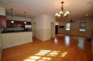 Open floor plan at 1750 Hickory Knoll