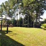 Backyard at 1405 Water Edge Drive