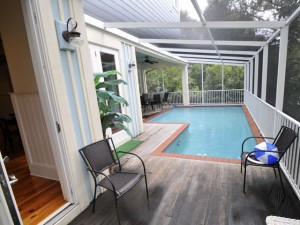 Private pool at 12 41st Ave
