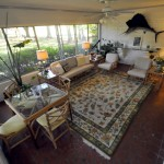 Sun room at 1570 Fairway Drive