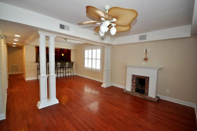 Living room at 131 Darlington Ave