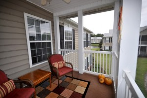 1352 Hopton Court screened porch