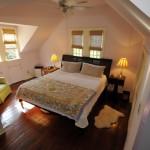 318 King Street master bedroom