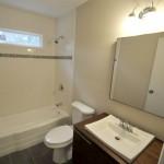 Updated bathroom at 1034 Nottingham Drive