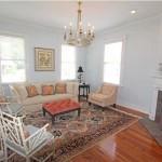 Living room at 15 Francis Street