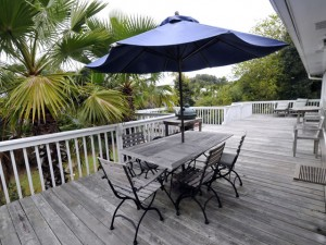 Large back deck at 3024 Ion Ave
