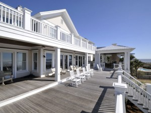 Back porches at 106 Ocean Boulevard