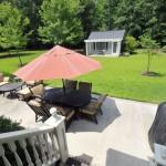 Backyard at 2090 Shell Ring Circle