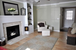 Living room at 8418 Gracefield Court
