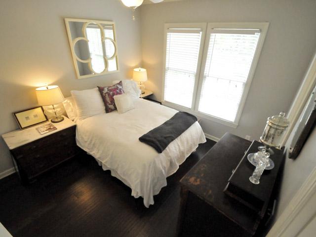 Guest bedroom at 152 Spring Street