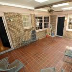 Back porch at 17 Palmetto Road