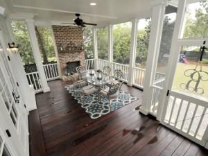 2405 Daniel Island Drive screen porch