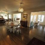 Open floor plan at 95 Riverland Drive